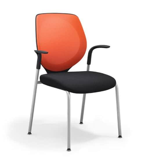siège-visiteur-353-rouge giroflex SPO