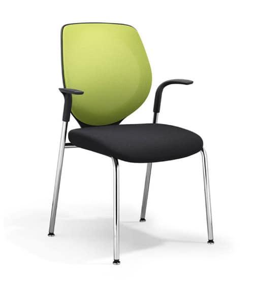 siège-visiteur-353-vert Giroflex SPO