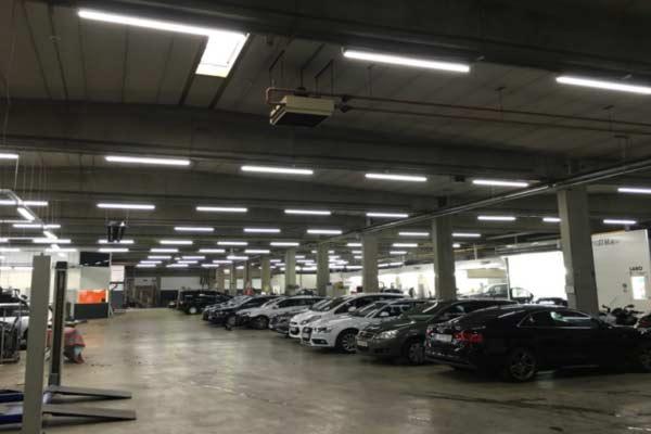 Tube-led-parking