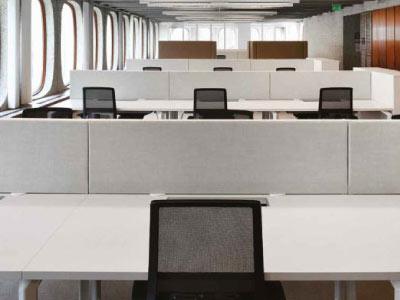 Panneau acoustique pour bureaux partagés