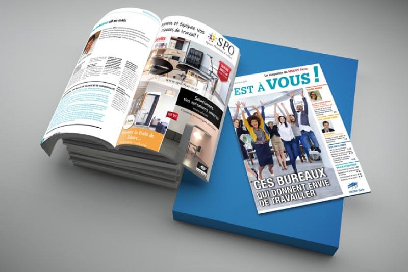 Ces bureaux qui donnent envie de travailler – article du Magazine Medef
