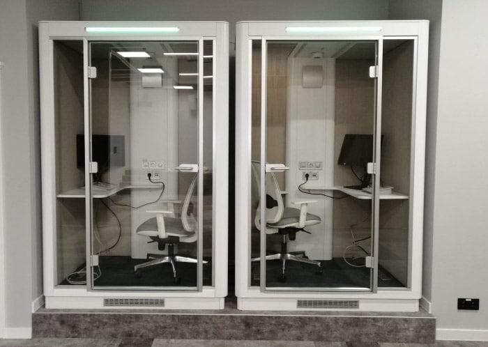 Bubble Desk HQ la cabine de bureau acoustique de 2021
